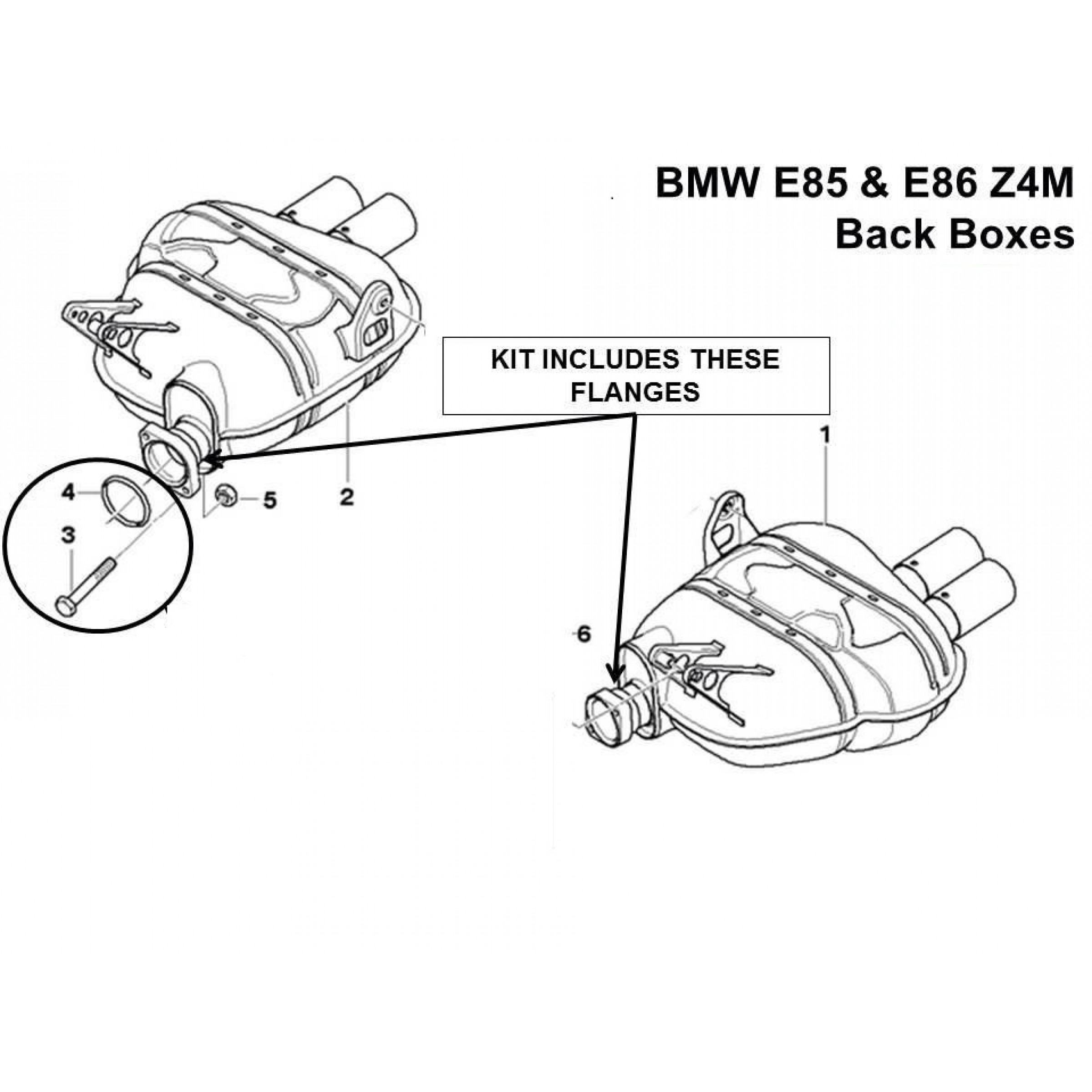 bmw m3 exhaust flange repair kit BMW Z4 Rims
