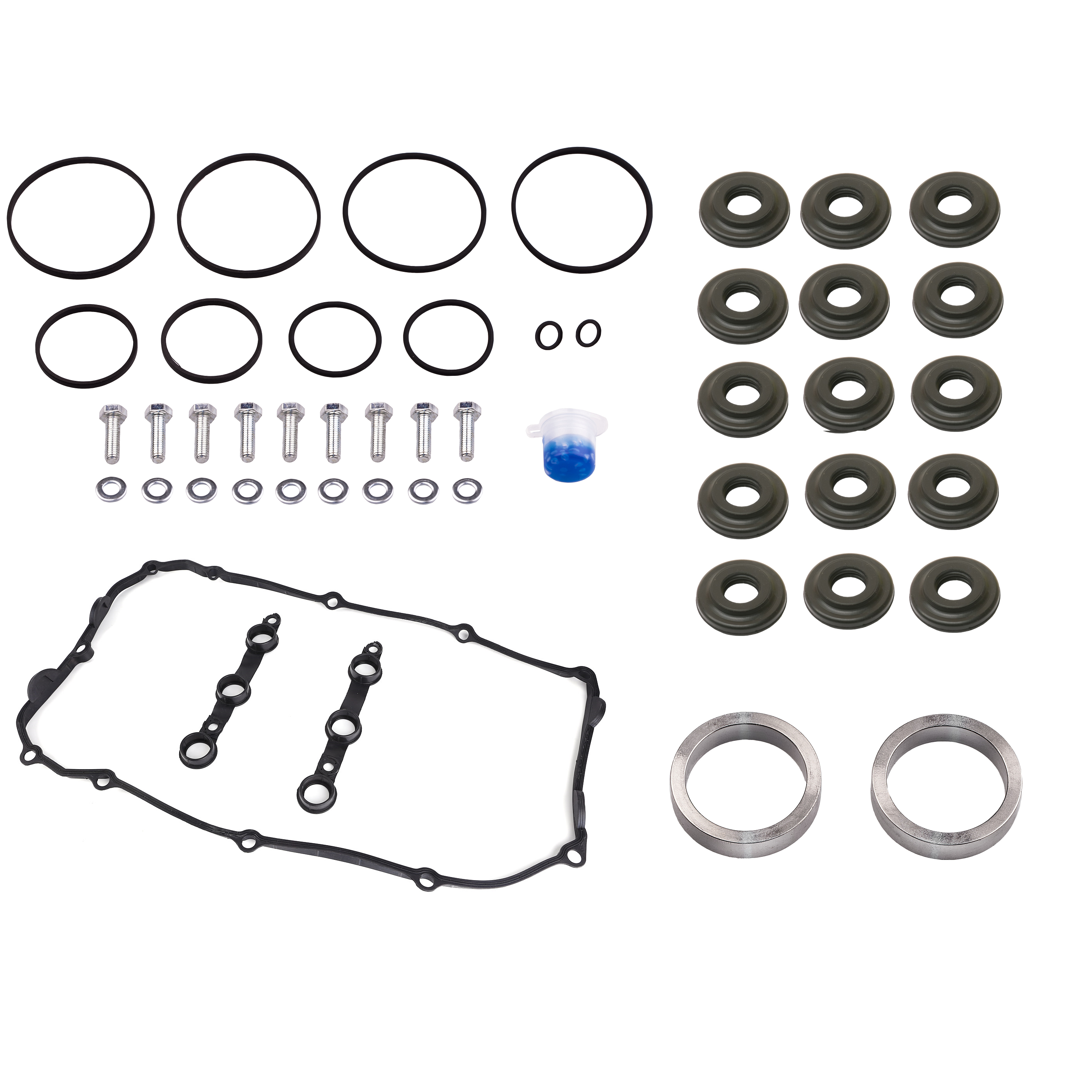 bmw double vanos seals repair kit with complete gaskets