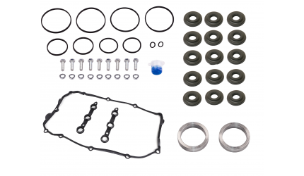BMW Double Vanos Seals Repair Kit with complete gaskets and rattle rings